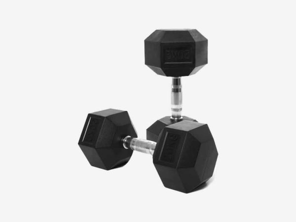 FORCE USA Rubber Hex Dumbbells
