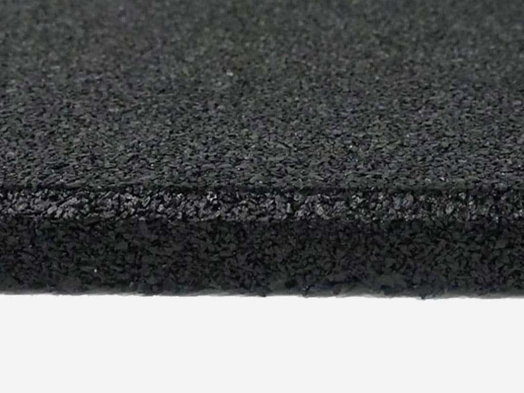 Rubber Flooring Tile Black