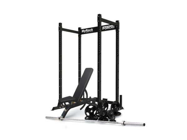 Force USA MyRack Package with DHZ Bench