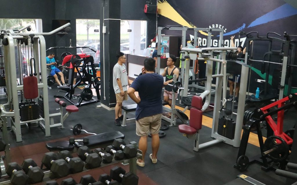 Aktivitas di Strongholdz Barbell Club