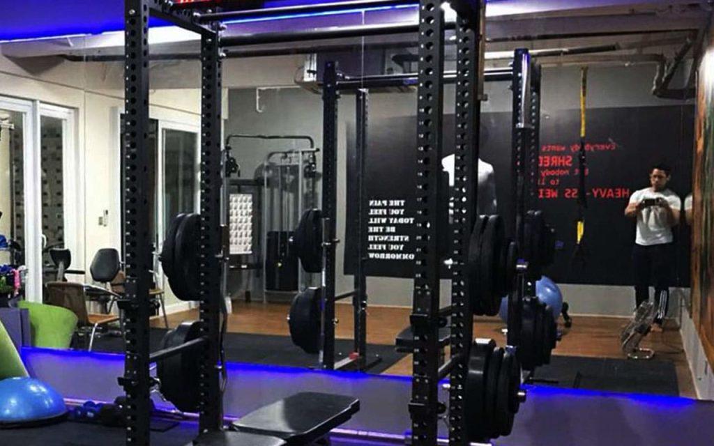 Suasana Home Gym milik Michael Mulyanto