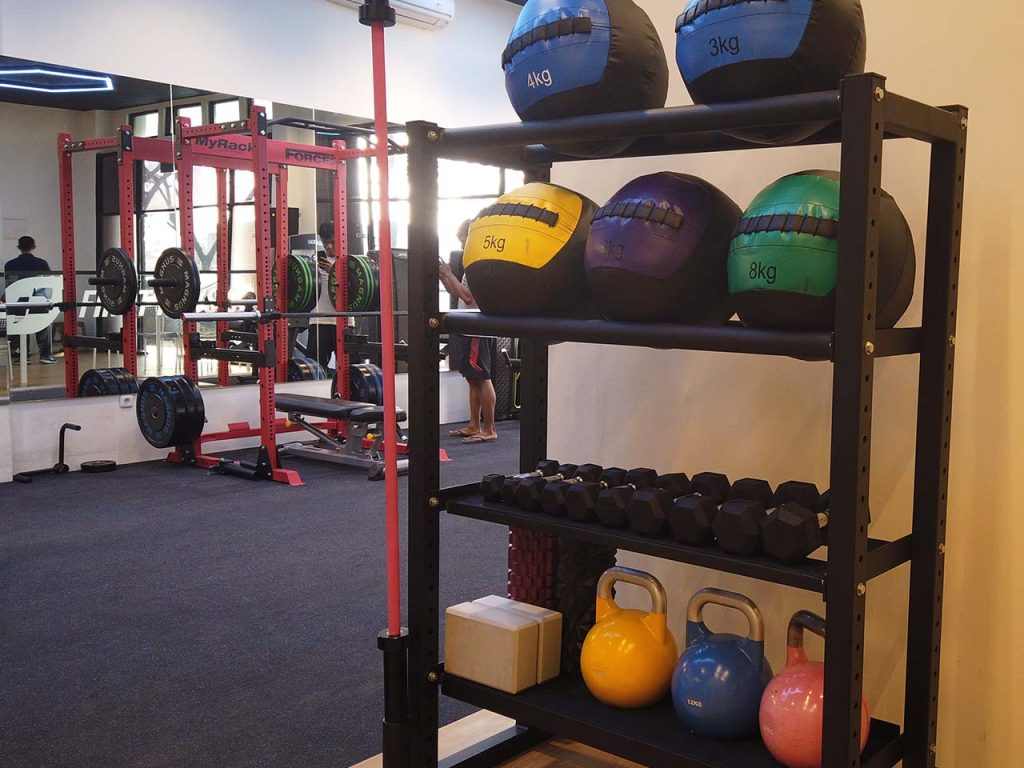 First Physio BSD Weights Rack