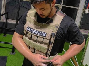 Weighted Vest for Calisthenics by Samuel