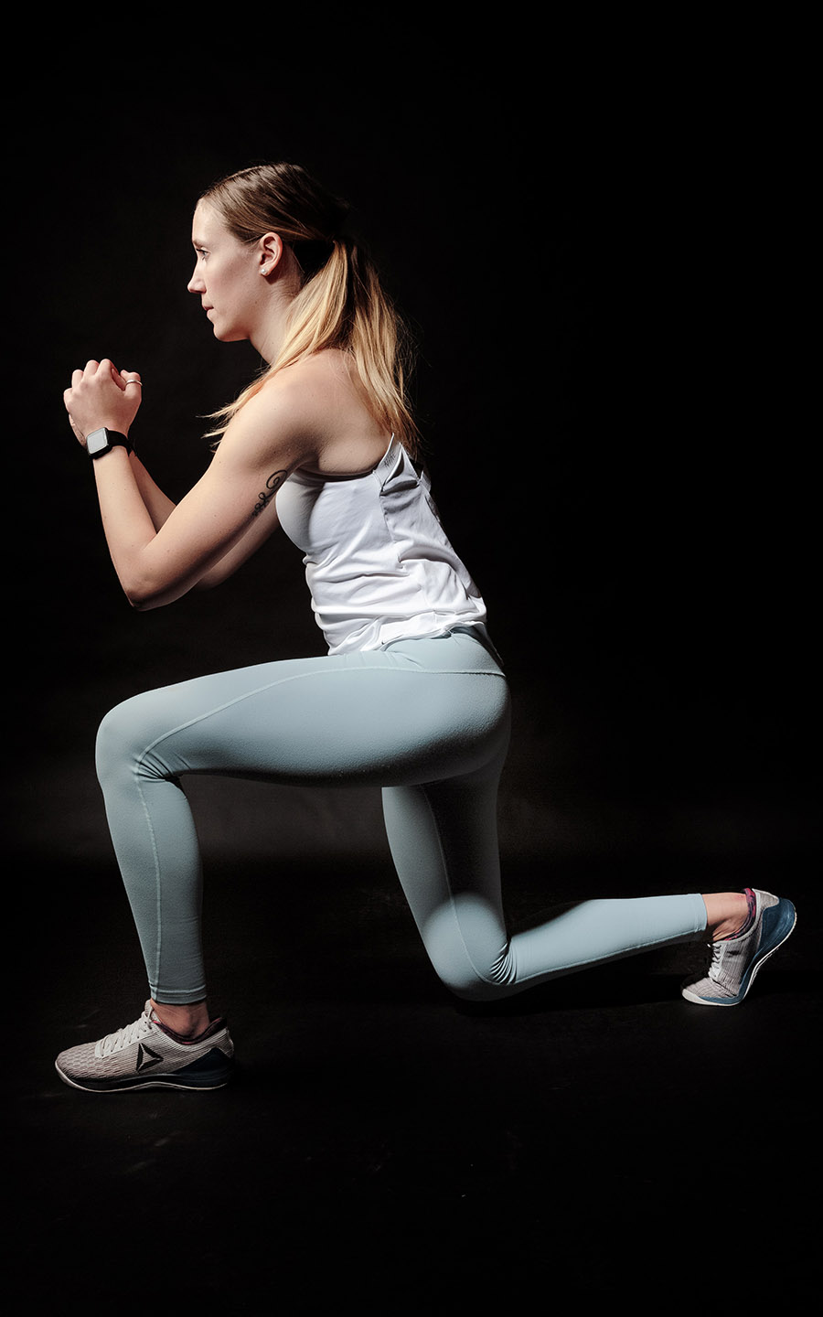 Woman Lunges