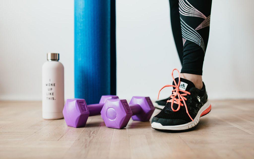 Alat gym di rumah