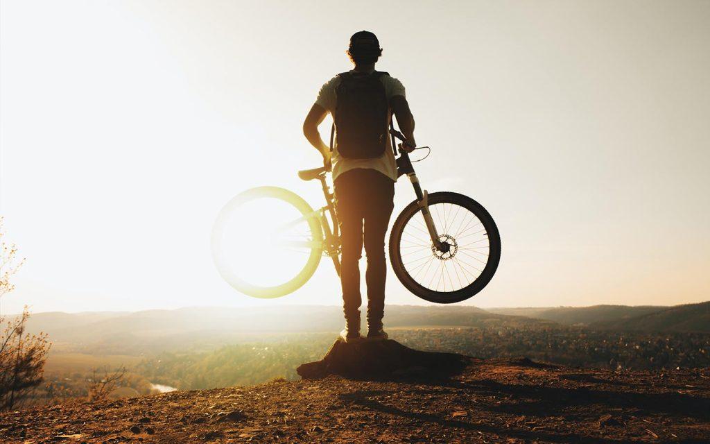 Bike olahraga penurun barat badan